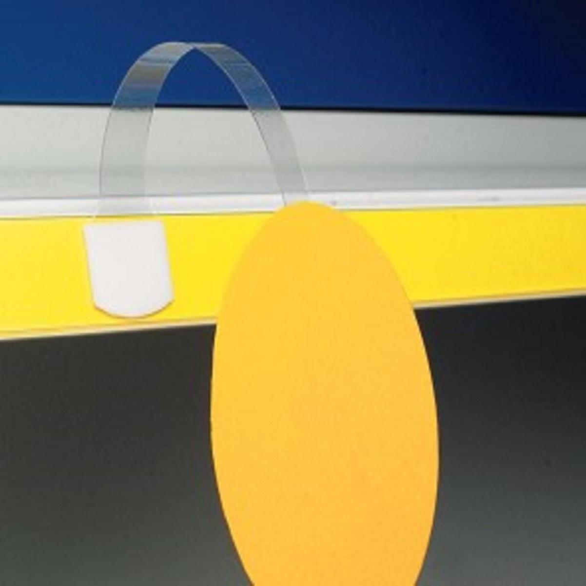 fleje europeo con adhesivo a ambos lados